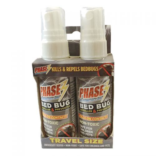 Phase3 Bed Bug Travel Spray - 2Pack