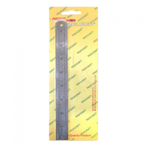Stainless Steel Ruler 8 inch